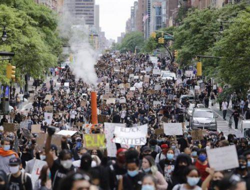 Protestas antioligárquicas en EE UU: mucho más allá de la raza