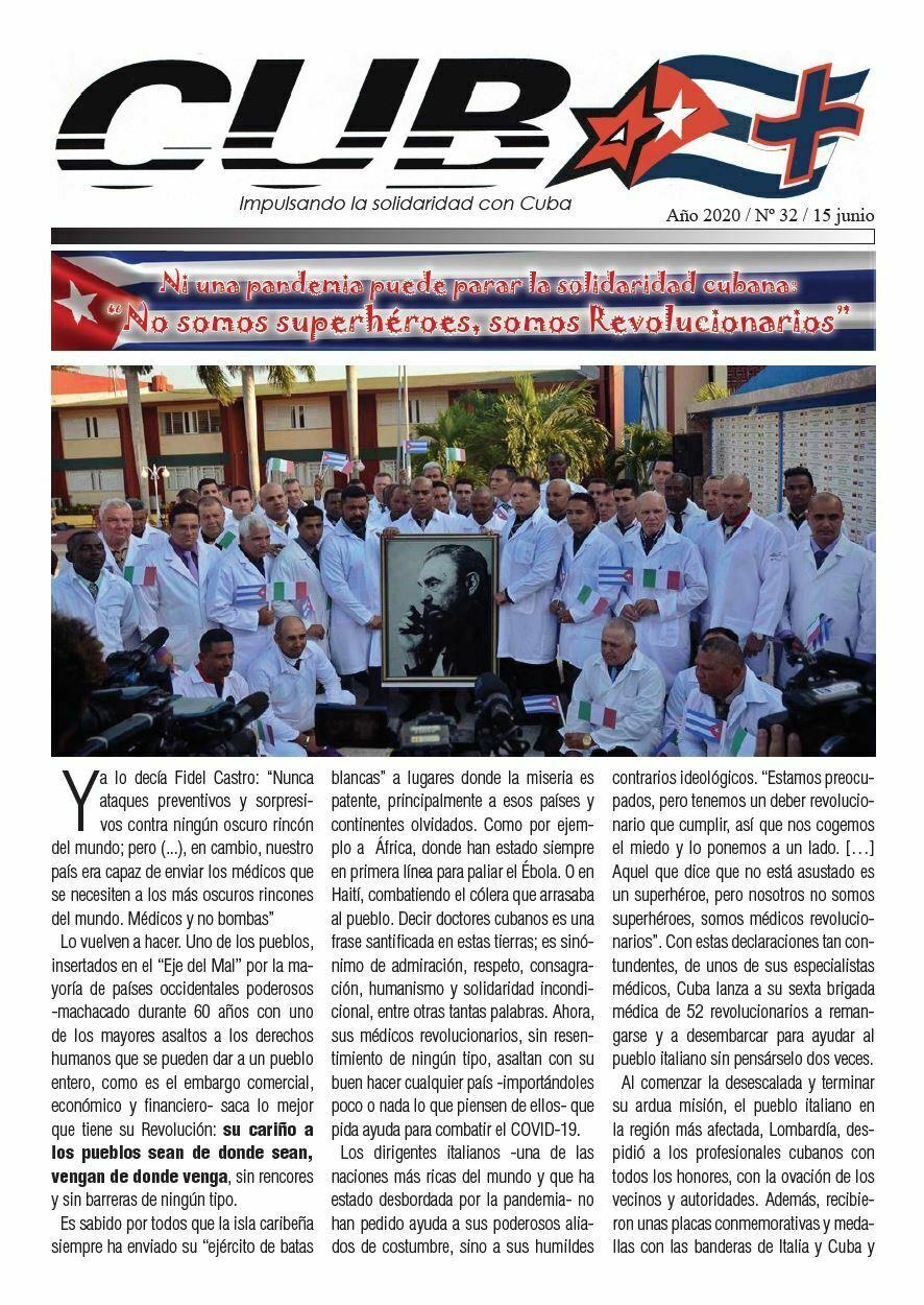 REVISTA CUBA+ Nº 32 – JUNIO 2020