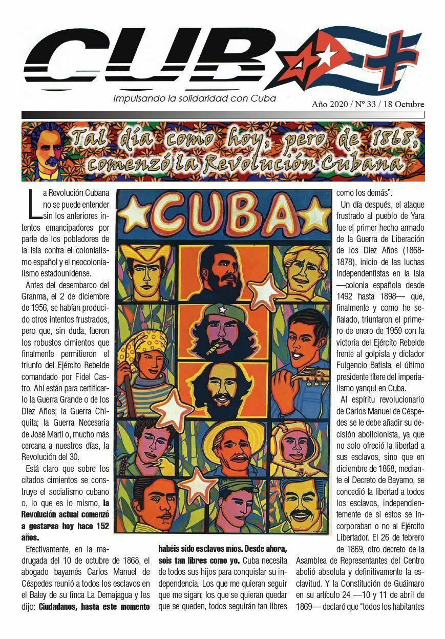 Portada Cuba+ 33